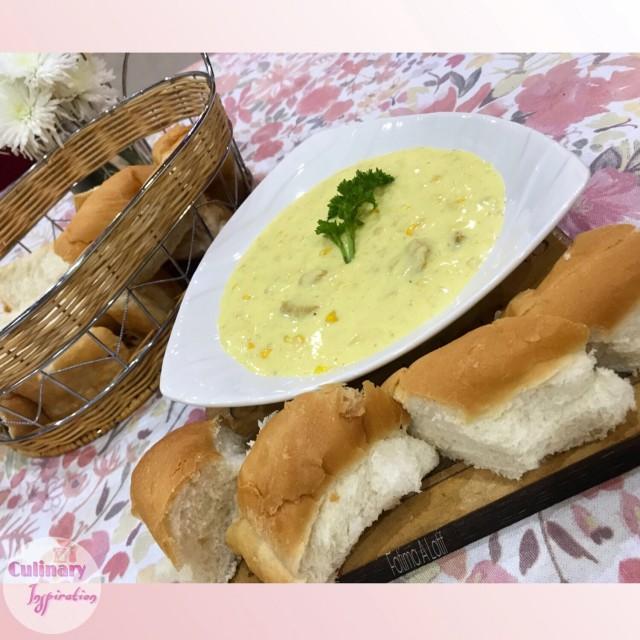 Saffron Corn Soup