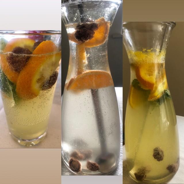 Orange/china Fruit Mocktail (2 Ways)