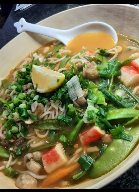 Tom Yum Soup (my Version)