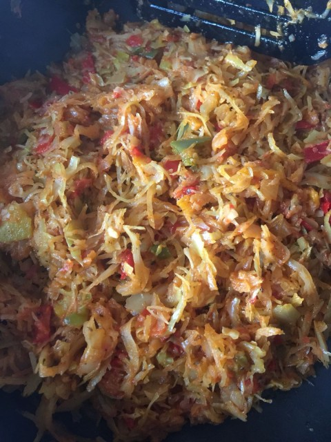Spicy Cabbage Side