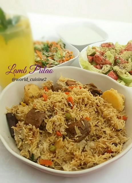 Lamb Pulao
