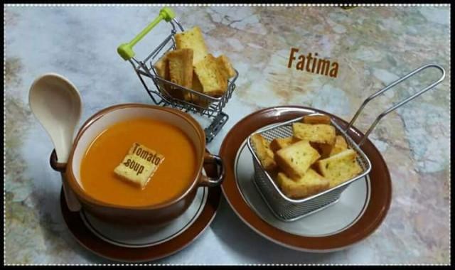 🍅 *tomato Soup *🍲 🍲*fatima Shakir Bobat*