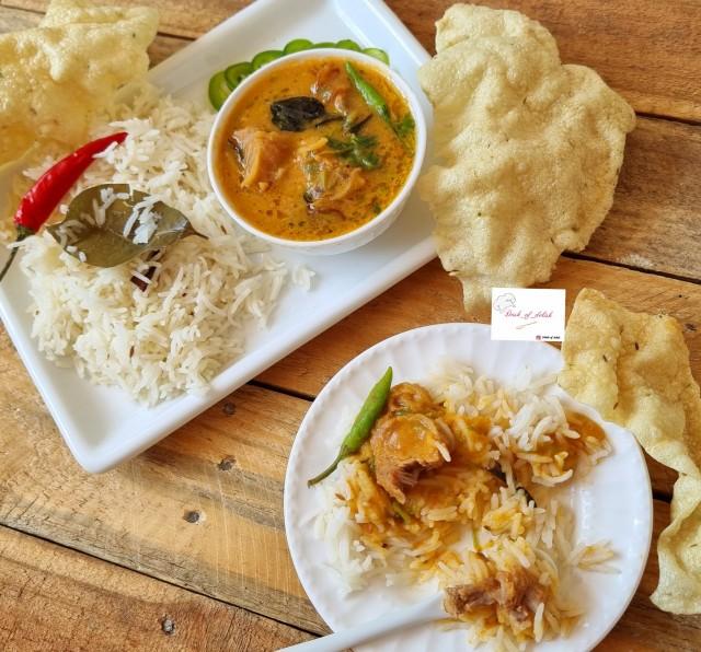 Dal Gosh &rice