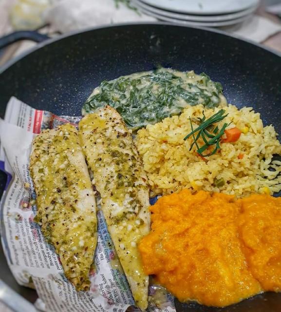 Green Masala Fish