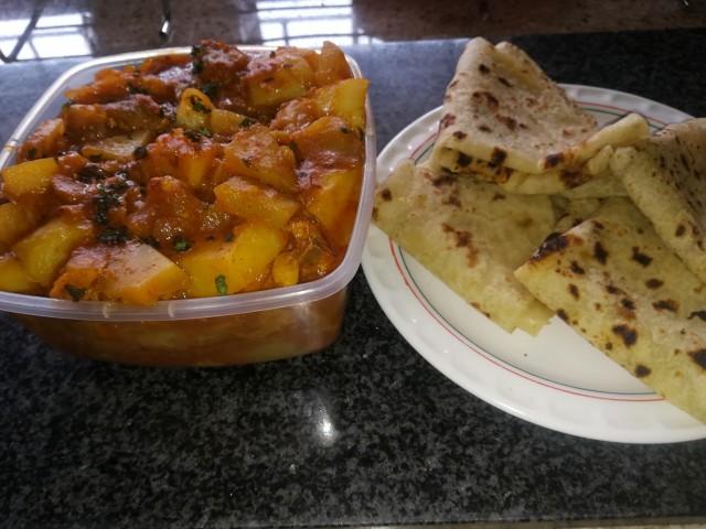 Dhodi /calabash With Mutton Or Chicken