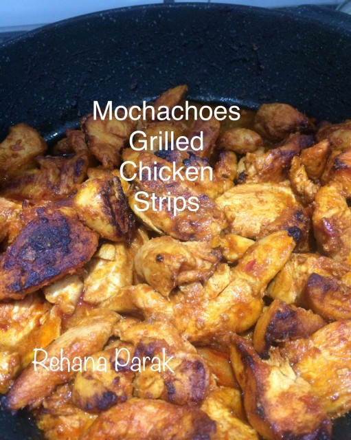 Mochachoes Grilled Chicken Strips