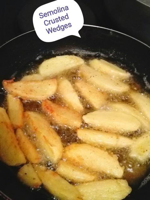 Semolina Crusted Wedges