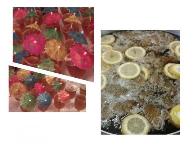 Lemon/ginger/mint Iced Tea