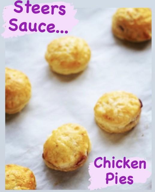 Steers Sauce Chicken Pies