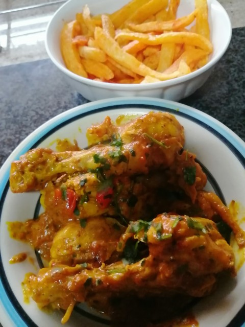 Chicken And Chips