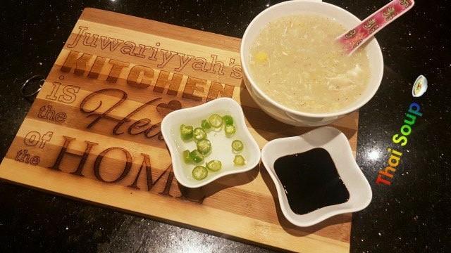Chicken Corn Soup (thai Style)