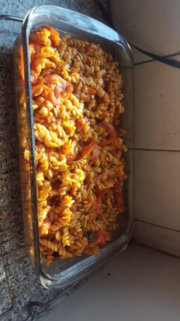 Sexy Spicey Tomato Pasta