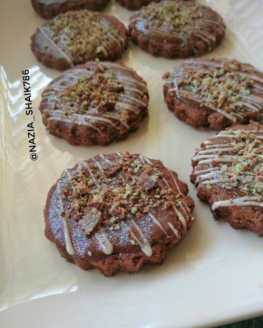 Chocolate Peppermint Biscuit