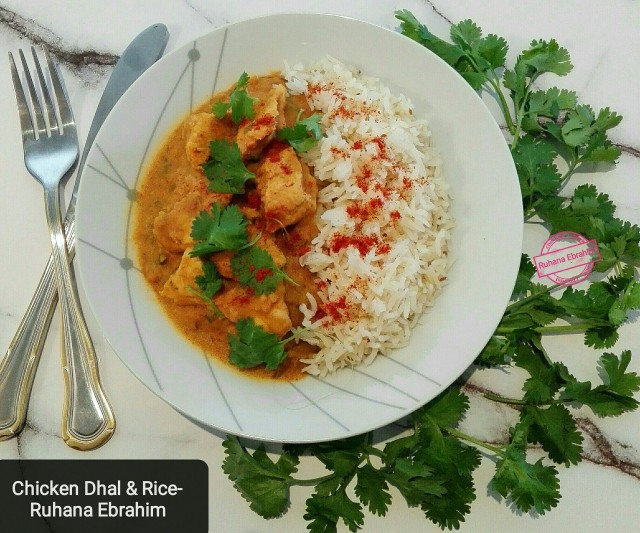 Chicken Dhal & Rice