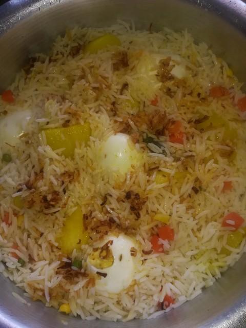 Chicken Veg Biryani