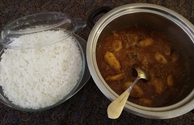 Mince Curry Licious
