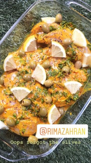 Chicken Olive And Lemon Tagine