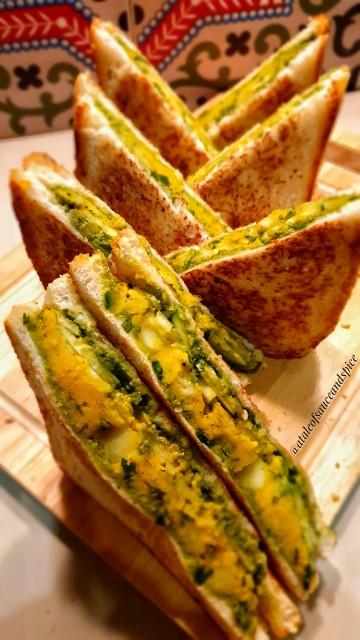Bombay Street Style Sandwiches