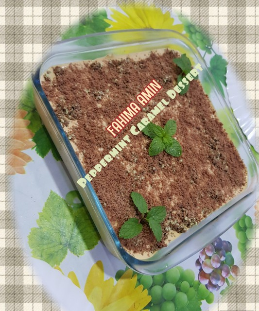 Peppermint Caramel Dessert