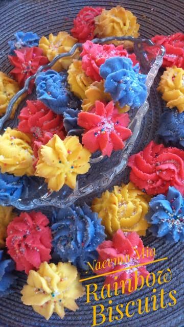 Maahir's Rainbow Biscuit