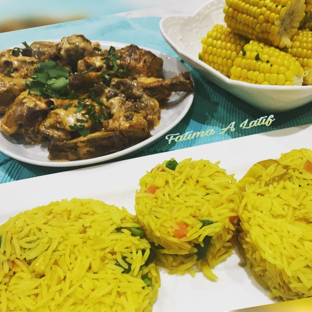 Adega Chicken And Spicy Rice