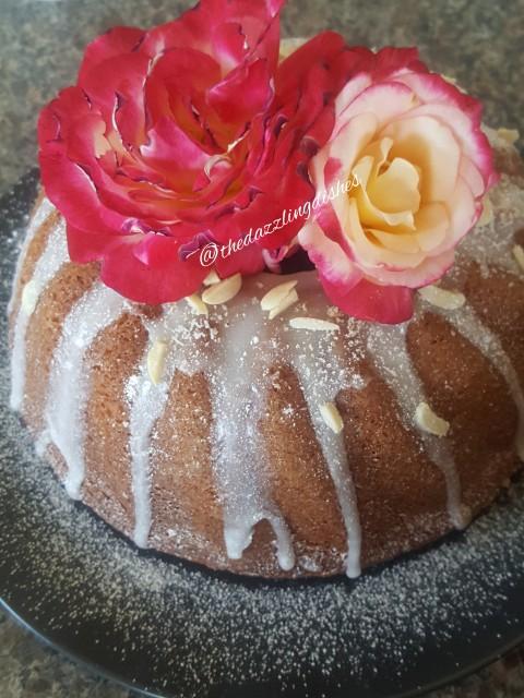 Tashas Coconut Cake With Almond Glaze