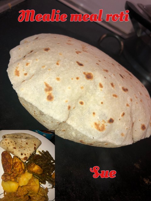 Mealie Meal Roti