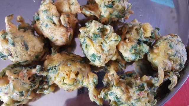 Spinach Bhajiya