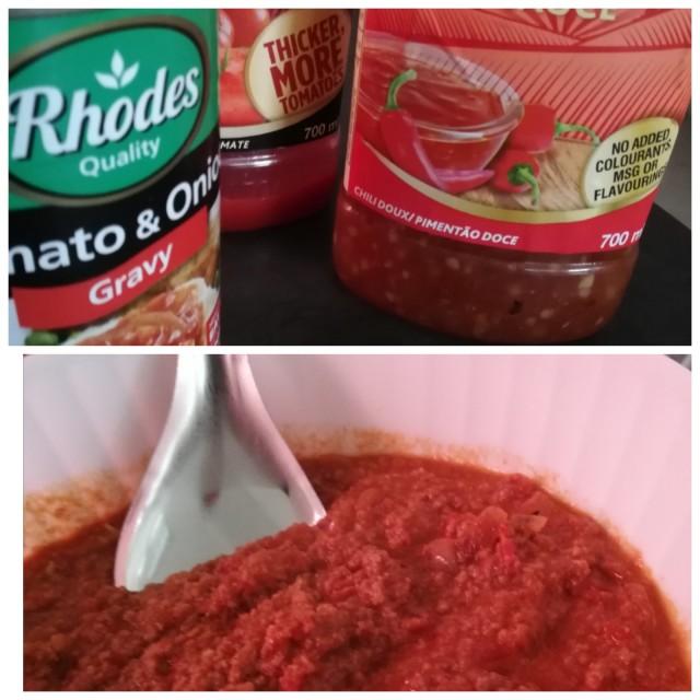 Tomato & Onion Steak Mince Filling