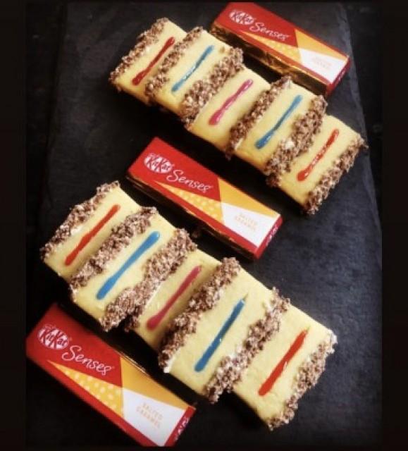 Kitkat Finger Biscuits (salted Caramel)