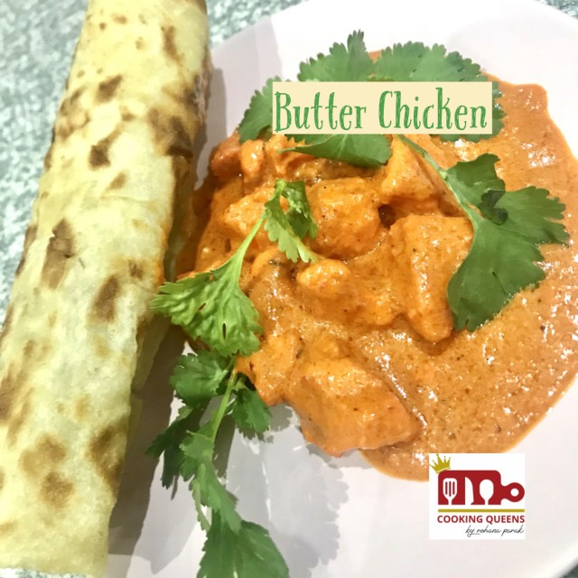 Butter Chicken With @osmans_taj_mahal