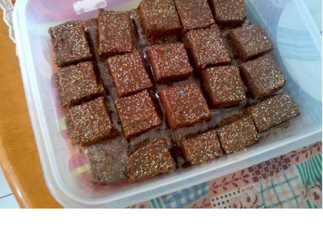 Mint Crisp Chocolate Squares.