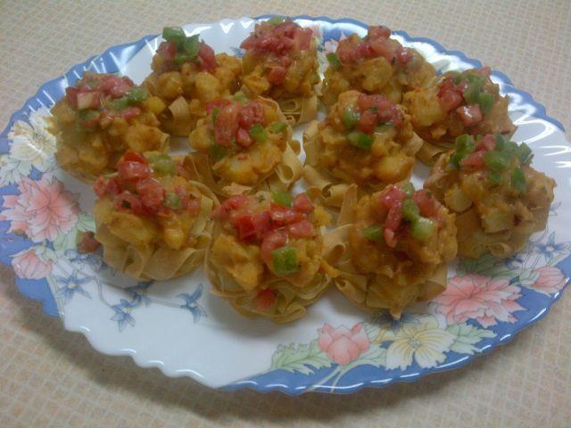 Potato Pur Nests