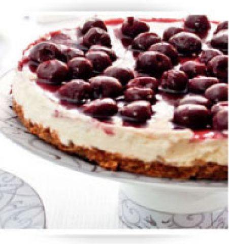 Chocolate & Cherry Cheesecake