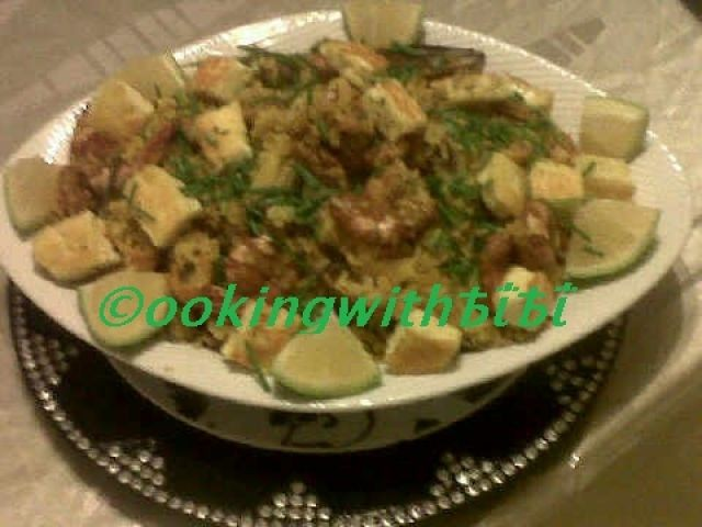 Seafood Paella Created By ©ookingwithѢΐѢΐ