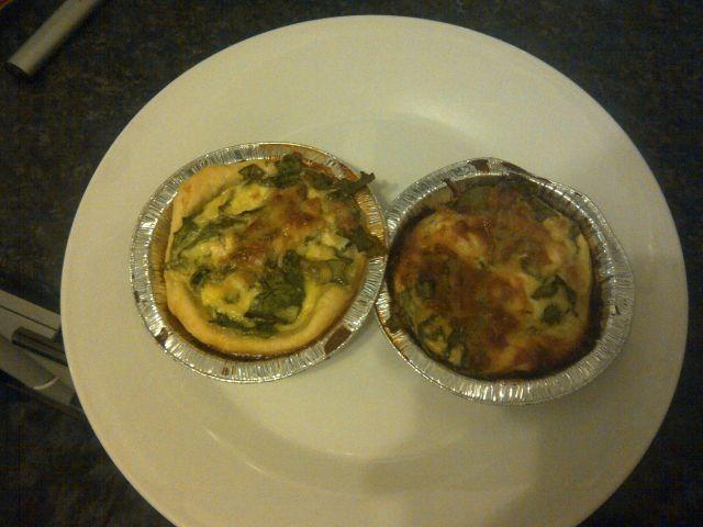 Spinach & Feta Quiche