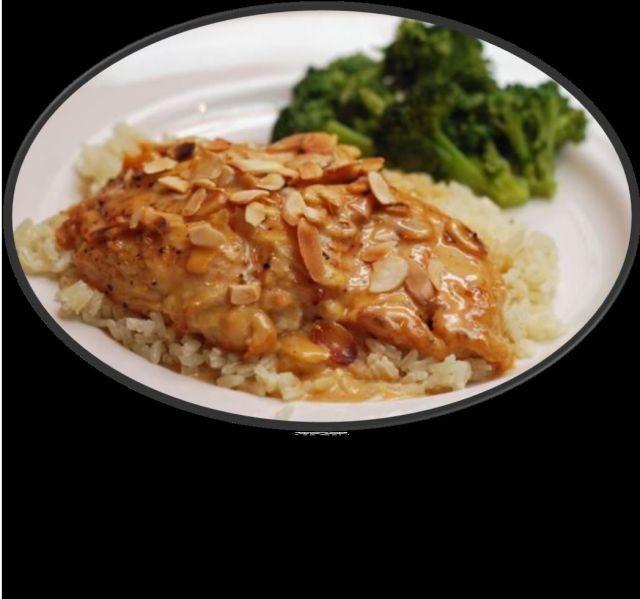 Badaam (almond) Chicken