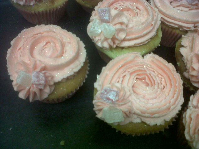 Rosewater And Turkish Delight Cupcakes