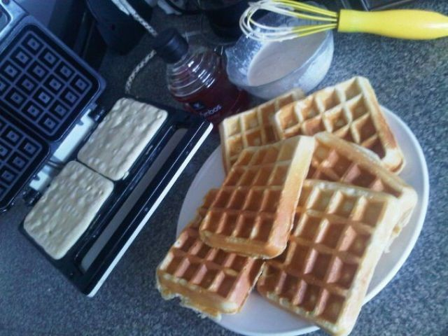 Traditional Waffles...