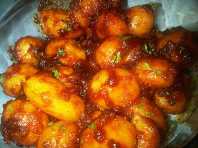 Aambli Potatoes
