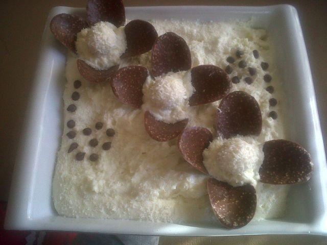 Rafaello Double Mousse Dessert