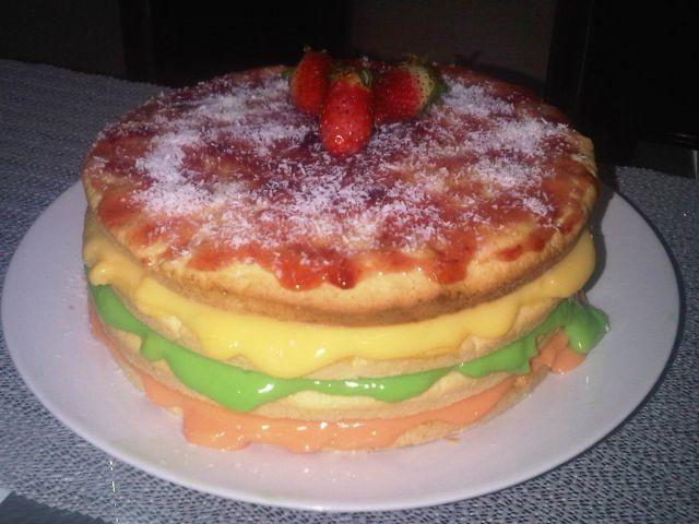 Custard Biscake