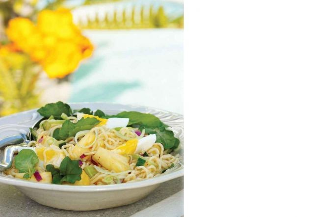 Tropical Noodle And Pineapple Salad