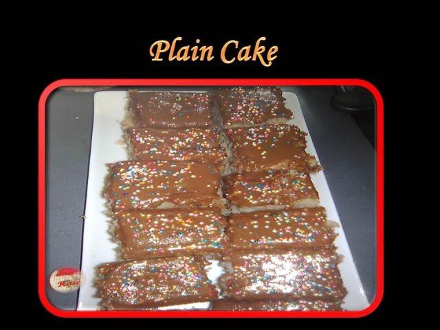 Flop Proof Vanilla Cake Recipe