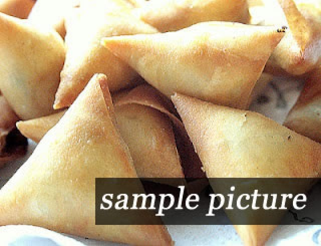 Nutella Samoosas