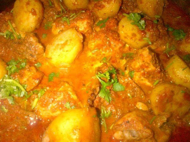 Baked Chicken Kalya