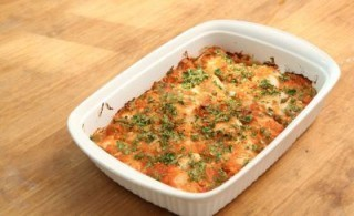 Baked Fish With Tomato Topping