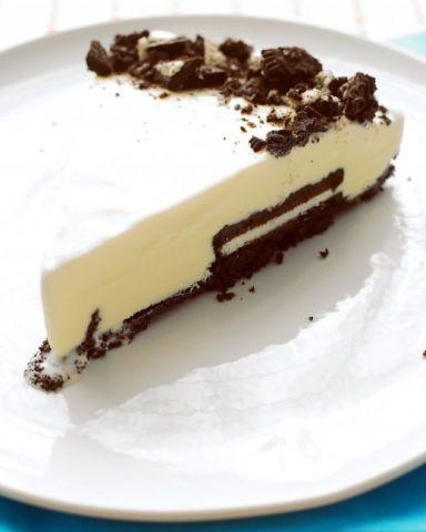 Black And White Ice - Cream Tart