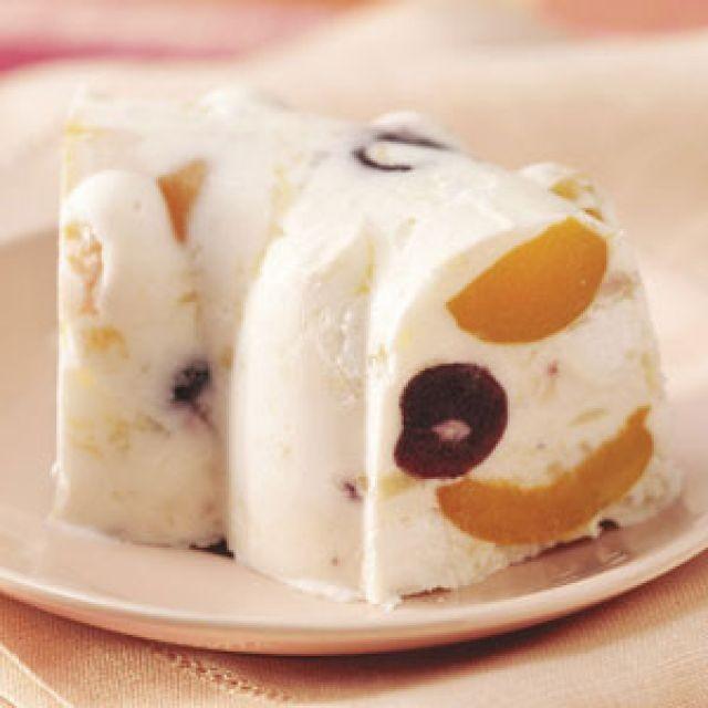 Frosty Mallow Fruit Dessert