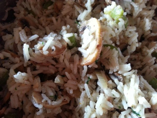 Veggie And Fresh Herb Savoury Rice